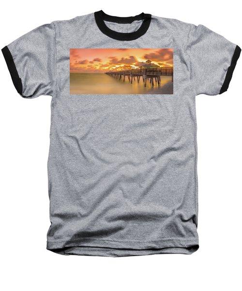 Sunrise At Juno Beach Baseball T-Shirt
