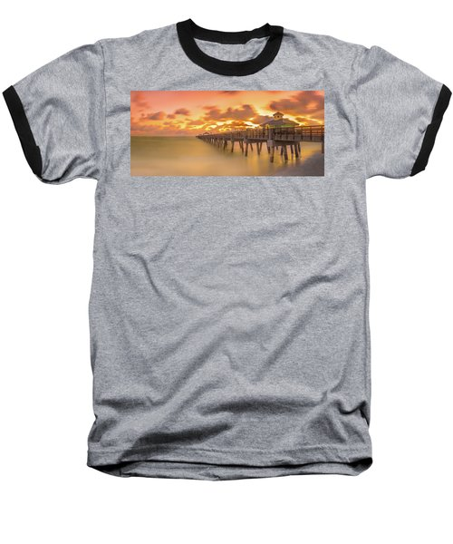 Sunrise At Juno Beach Baseball T-Shirt