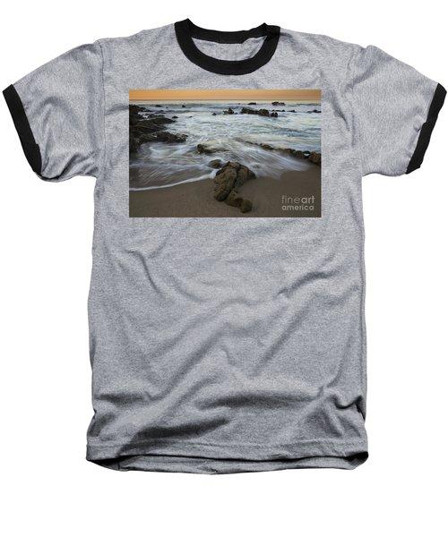 Baseball T-Shirt featuring the photograph Sunrise At Laguna Beach by Keith Kapple