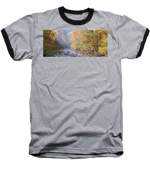 Sunrise At Metcalf Bottoms Baseball T-Shirt