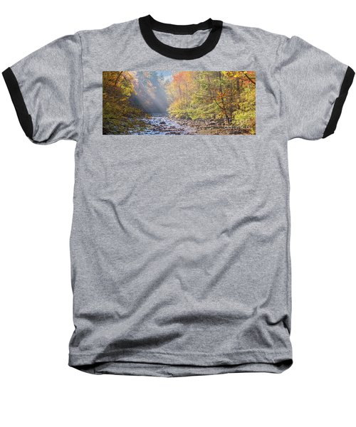 Sunrise At Metcalf Bottoms Baseball T-Shirt