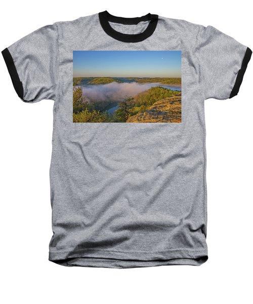 Sunrise At Mill Creek Lake. Baseball T-Shirt by Ulrich Burkhalter
