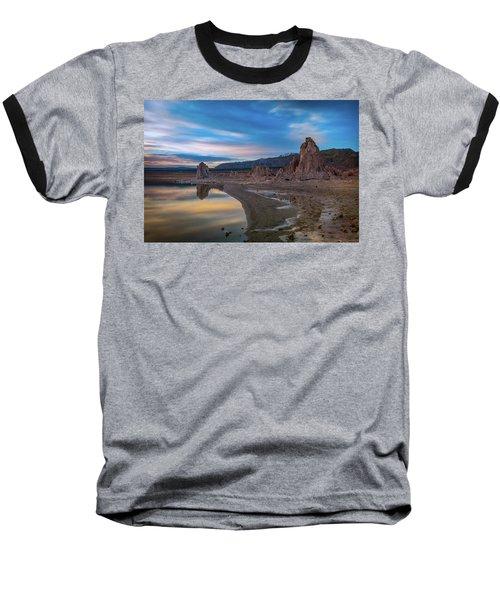 Sunrise At Mono Lake Baseball T-Shirt by Ralph Vazquez