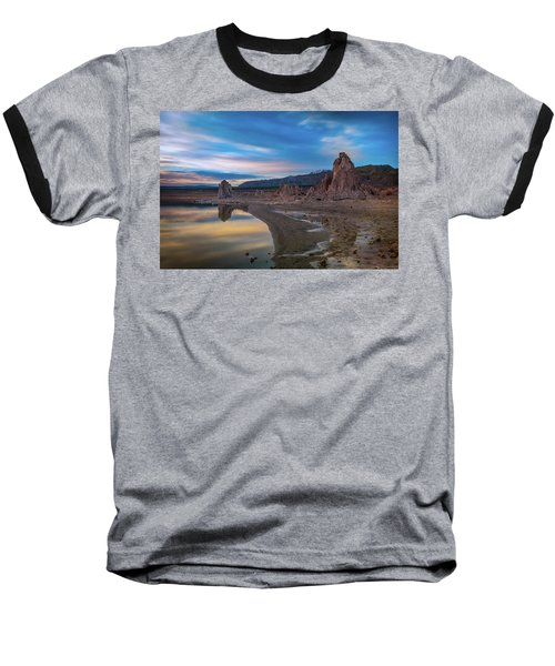 Sunrise At Mono Lake Baseball T-Shirt