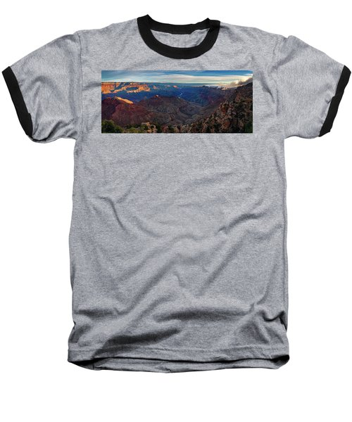 Sunrise At Navajo Point Baseball T-Shirt