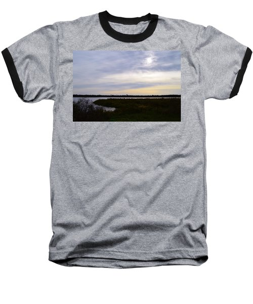 Sunrise At Orange Creek Baseball T-Shirt by Warren Thompson