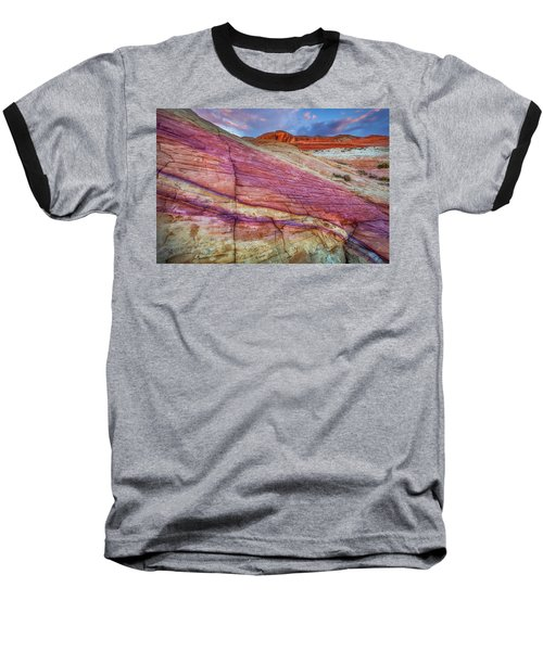 Baseball T-Shirt featuring the photograph Sunrise At Rainbow Rock by Darren White