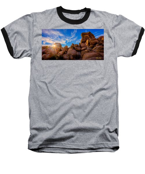Sunrise At Skull Rock Baseball T-Shirt