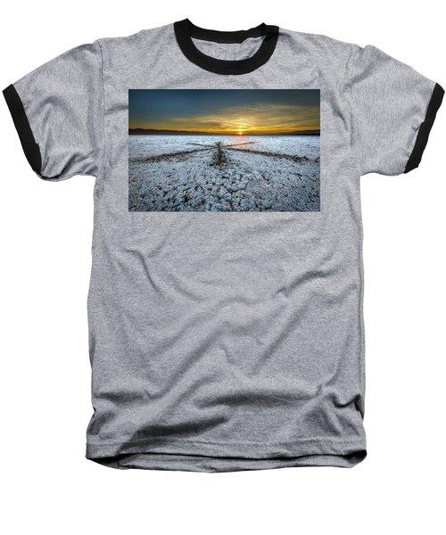 Sunrise At Soda Lake Baseball T-Shirt