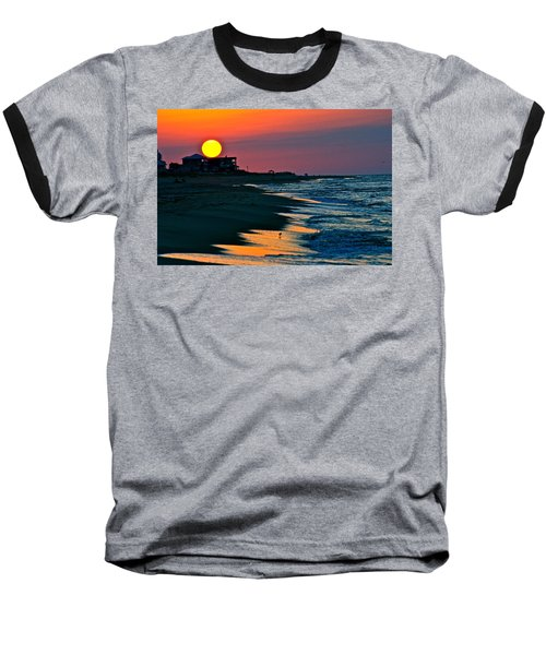 Sunrise At St. George Island Florida Baseball T-Shirt