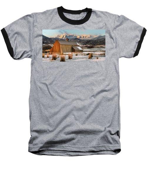 Sunrise At Tate Barn Baseball T-Shirt