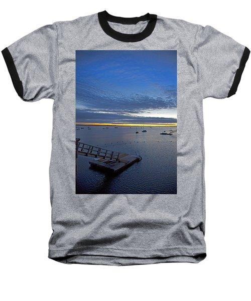 Sunrise At The Barnstable Yacht Club Baseball T-Shirt
