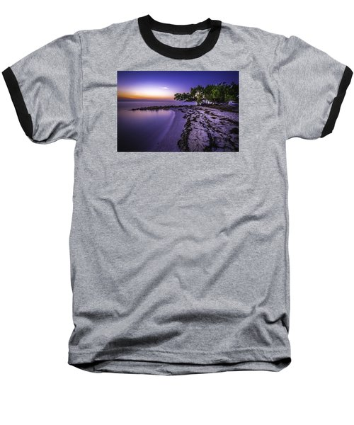 End Of The Beach Baseball T-Shirt