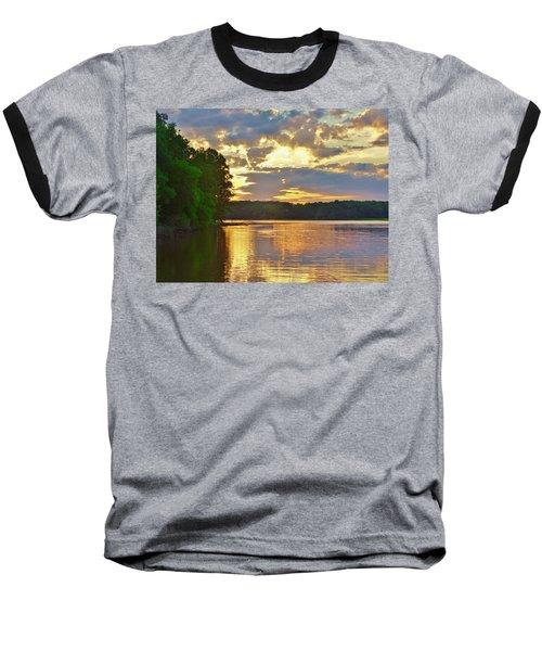 Sunrise At The Landing Baseball T-Shirt