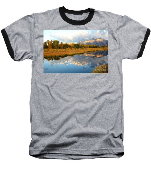 Sunrise At The Tetons Baseball T-Shirt