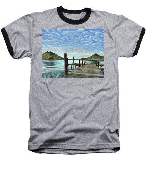 Sunrise At The Water Baseball T-Shirt