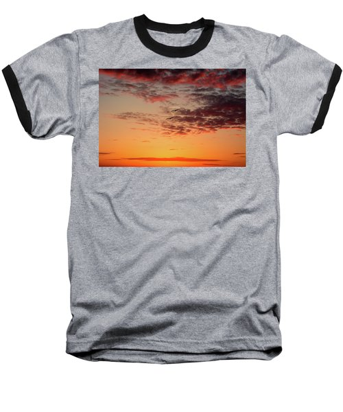 Sunrise At Treasure Island Baseball T-Shirt by RC Pics