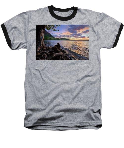 Sunrise At Waterton Lakes Baseball T-Shirt