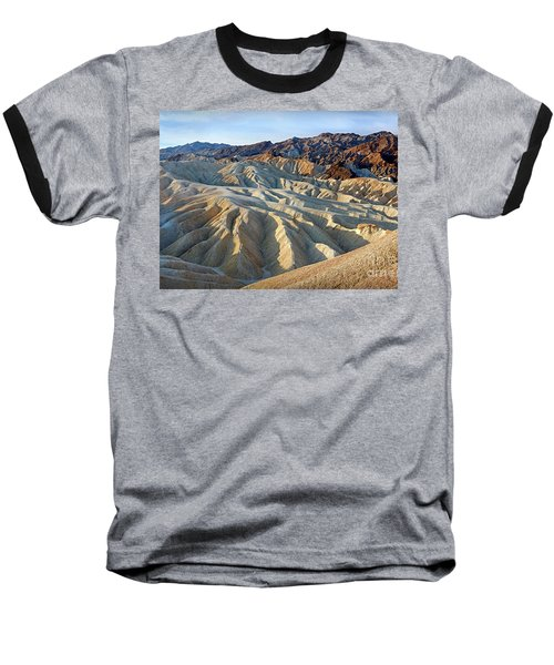 Sunrise At Zabriskie Point Baseball T-Shirt by Martin Konopacki