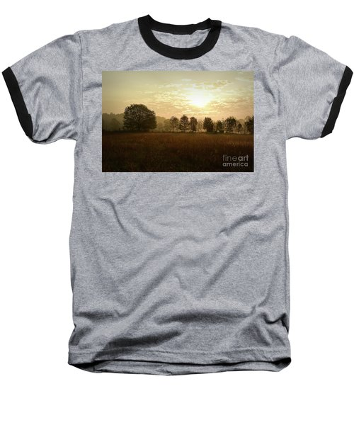 Sunrise Autumn Equinox 2017 Baseball T-Shirt