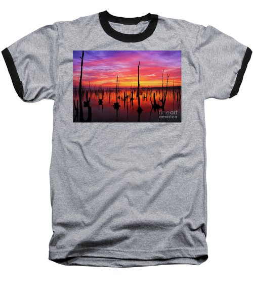 Sunrise Awaits Baseball T-Shirt