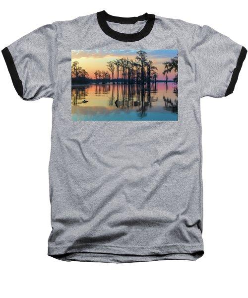 Sunrise, Bald Cypress Of Nc  Baseball T-Shirt