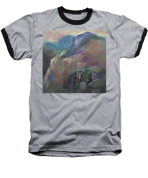 Sunrise Baseball T-Shirt by Becky Kim