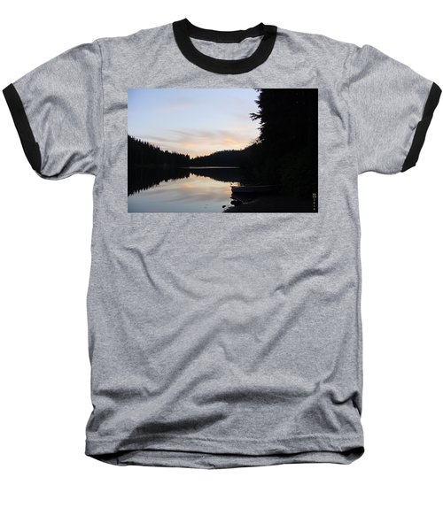 Sunrise Boat  Baseball T-Shirt