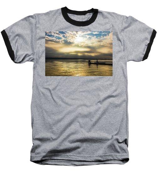 Sunrise Burning Baseball T-Shirt