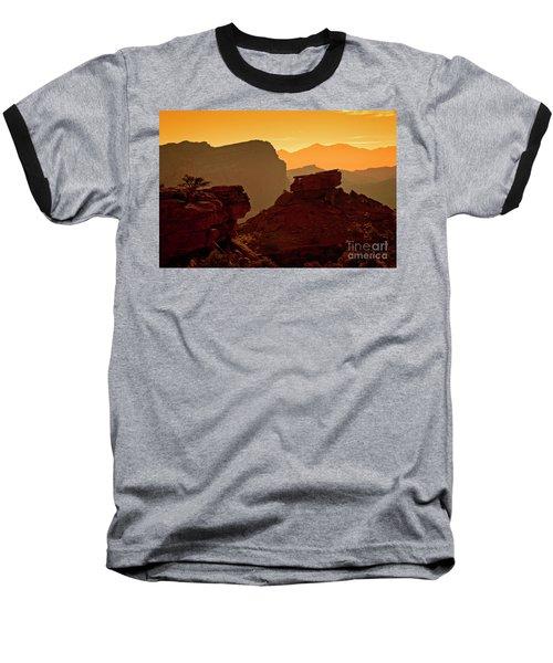 Capital Reef Sunrise Baseball T-Shirt