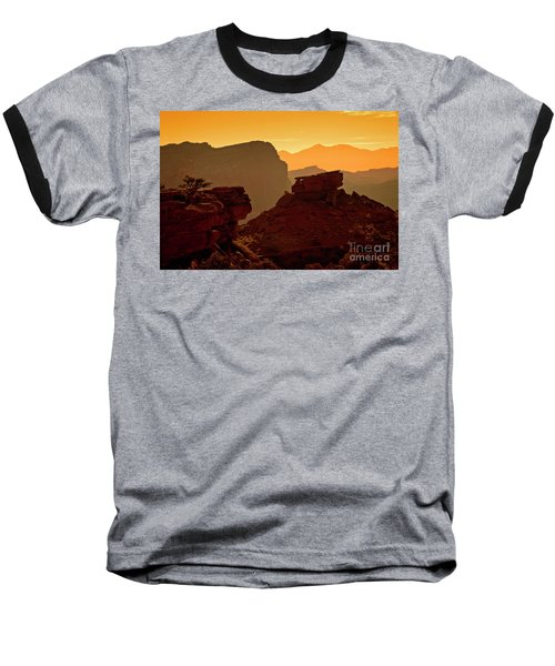 Capital Reef Sunrise Baseball T-Shirt
