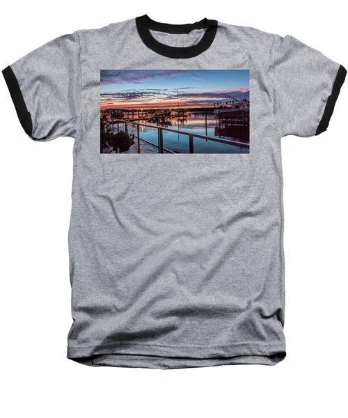 Sunrise Christmas Morning Baseball T-Shirt