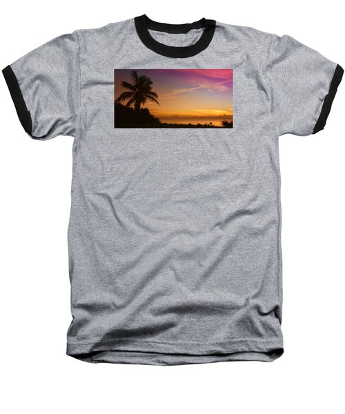 Sunrise Color Baseball T-Shirt by Don Durfee