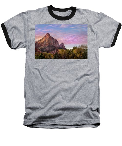 Baseball T-Shirt featuring the photograph Sunrise Colors by James Woody