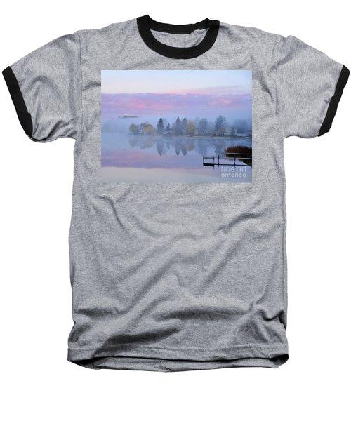 Sunrise Comes To Stoneledge Lake Baseball T-Shirt