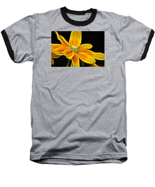 Baseball T-Shirt featuring the photograph Sunrise Daisy by Cameron Wood
