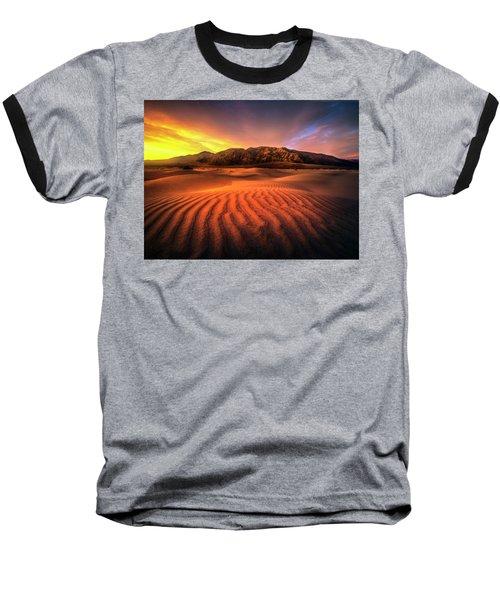 Sunrise-death Valley Baseball T-Shirt