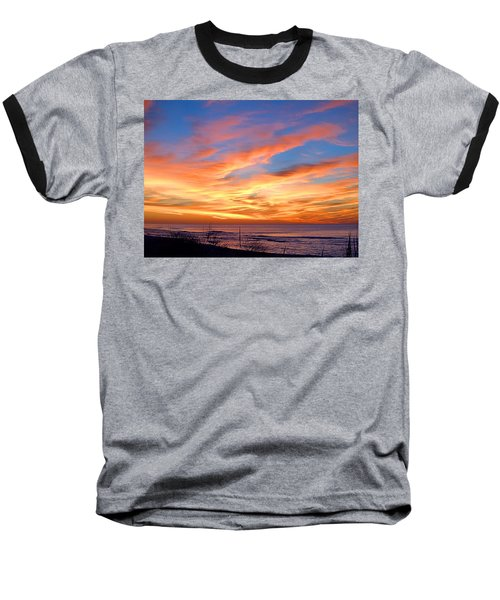 Sunrise Dune I I I Baseball T-Shirt