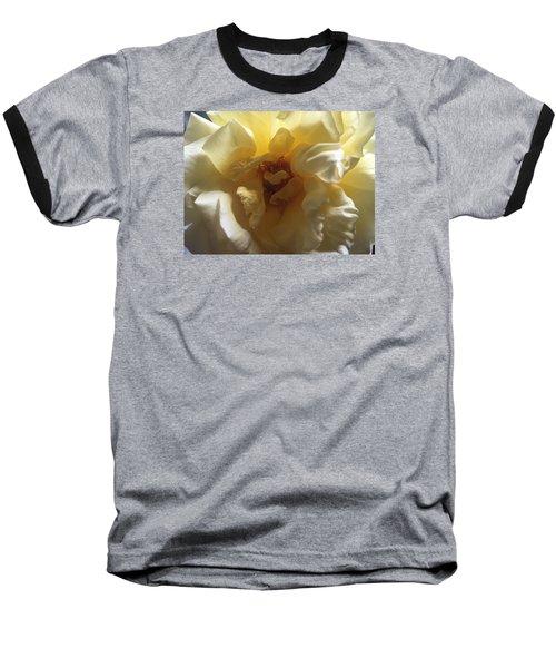 Sunrise Flower Baseball T-Shirt