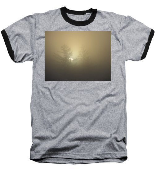 Sunrise Fogged - 1 Baseball T-Shirt