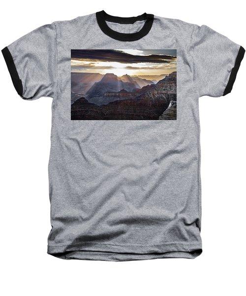 Sunrise Grand Canyon Baseball T-Shirt