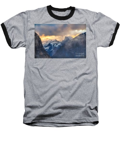 Sunrise Half Dome Baseball T-Shirt