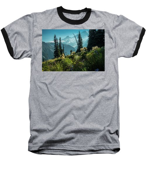 Sunrise Heaven Baseball T-Shirt