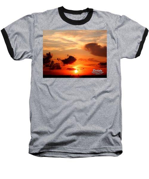 Sunrise In Ammannsville Texas Baseball T-Shirt