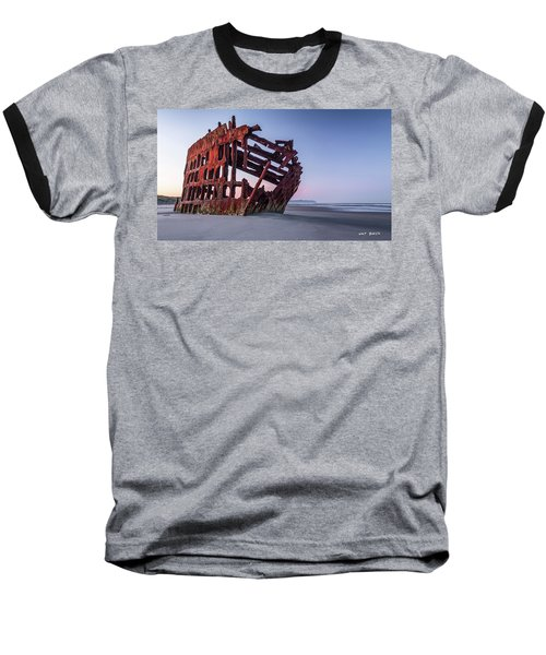 Sunrise In Astoria Baseball T-Shirt