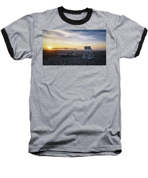 Baseball T-Shirt featuring the photograph Sunrise In Avalon by Eduard Moldoveanu