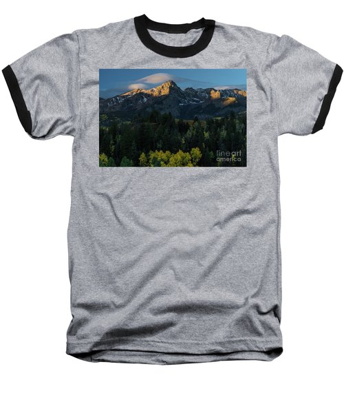 Sunrise In Colorado - 8689 Baseball T-Shirt