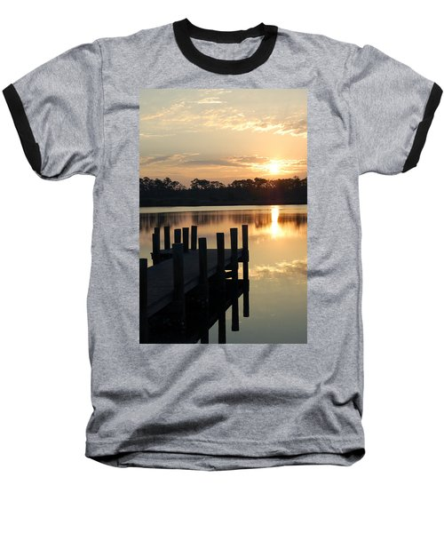 Sunrise In Grayton Beach II Baseball T-Shirt
