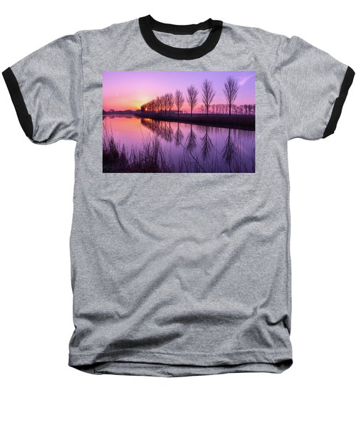 Sunrise In Holland Baseball T-Shirt