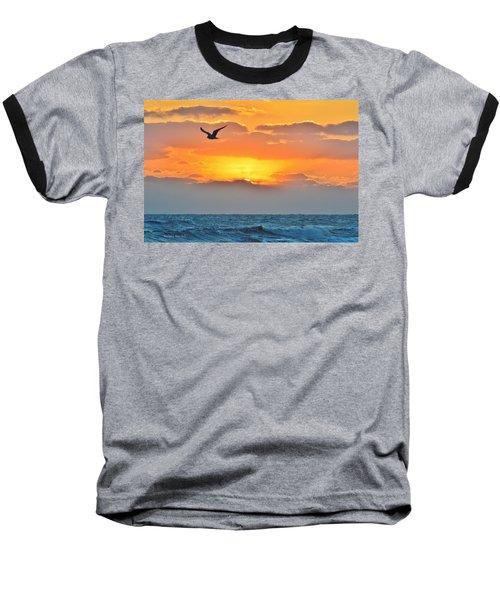 Sunrise In Nags Head Baseball T-Shirt